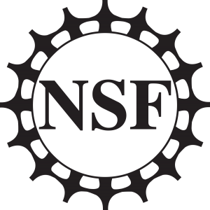 Image is of the National Sciences Foundation logo in black.